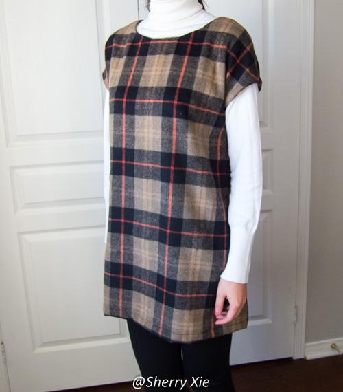 Sewing Project - Wool Top